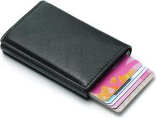 Pop-up kortholder med RFID-signalblokering - sort