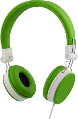 Streetz headset för iphone, mikrofon,1,5m, grön