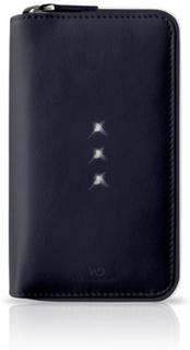 White diamonds crystal purse iphone 6 / 6s - svart