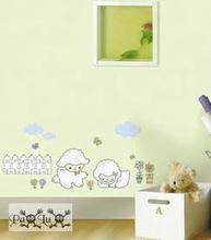 Lamm för barnrum barn dekoration inredning wallie väggdekor