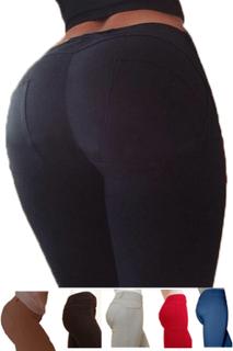 Stretchiga slim leggings som formar rumpan 6 färger