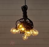 LED-ljusslinga Circus med 10 ljuskällor, klar