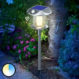 Solarlampa Sunny PIR m. variabel ljusfärg