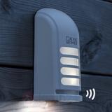 Batteridriven LED-utomhusvägglampa Prato