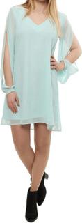 Marcela dress open sleeve aqua mint rut&circle