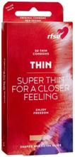 RFSU Thin Condoms 30-pack Intim Transparent