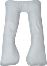 vidaXL Gravidkudde 90x145 cm grå