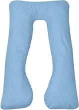 vidaXL Gravidkudde 90x145 cm ljusblå