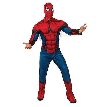 Spiderman voksen kostume - Fruugo