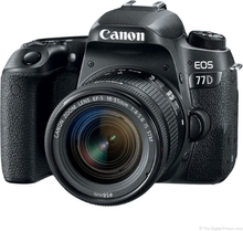 Canon EOS 77D + 18-55/4,0-5,6 IS STM