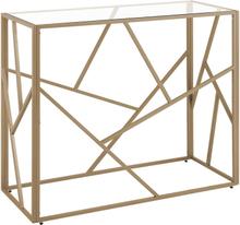 Sivupöytä 85 cm kultainen ORLAND