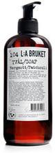 Flytande Tvål Bergamott/Patchouli, 450 ml