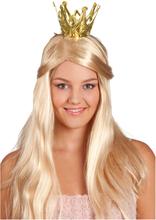 Prinsesskrona Guld - One size