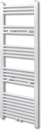 vidaXL Handdukstork centralvärme element rak 500 x 1424 mm