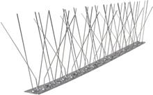 vidaXL 5-raders Fågelpiggar i rostfritt stål Set om 6