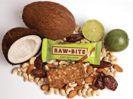 Raw Food Bar - RawBite Lime