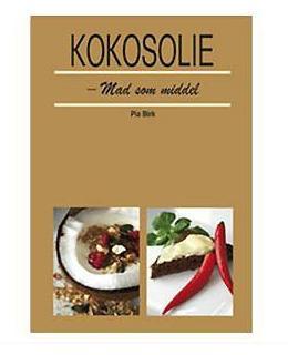 Kokosolie bog af Pia Birk.