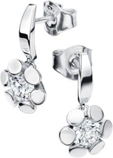 Örhängen 18k vitguld Blåklint mg005 0,46 ct diamant