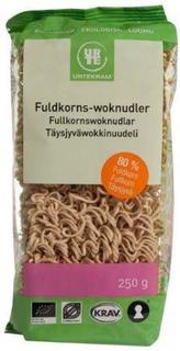 Urtekram Fuldkorns woknudler Ø, 250g.