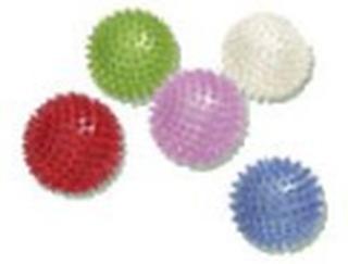 Massagebold Ø 8 cm ass. farver, 1 stk
