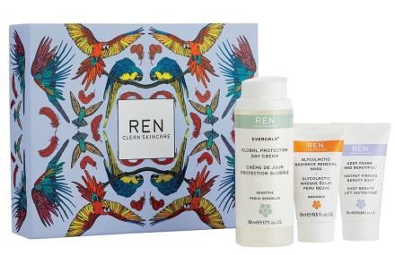 REN skincare Ansigts-Favoritter Gavesæt Silken Favours