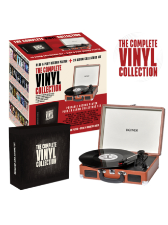 THE COMPLETE VINYL COLLECTION Platespiller - Brun