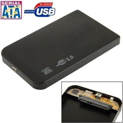 Eksternt kabinett 2,5 tommer SATA harddisk - USB