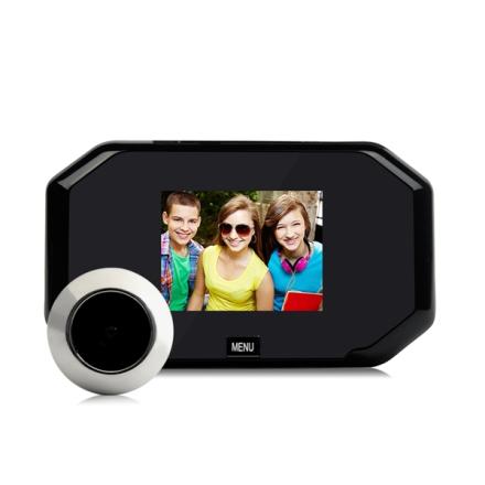 """Dørkamera 3"""" skjerm med bilde-funksjon"""