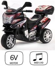 Azeno, Night Rider motorcykel - sort - 6V