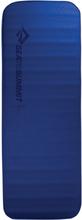 Sea to Summit Comfort Deluxe S.I. Mat Regular Wide blue 2020 Liggunderlag