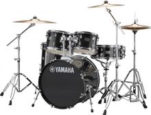 Yamaha Rydeen Standard drumset - stands and cymbals incl. - Black Glitter