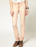 Denham Cleaner Coloured Skinny Jeans - Pink