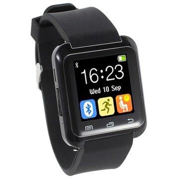 Multifunktionel Bluetooth Smartwatch U80 - Sort