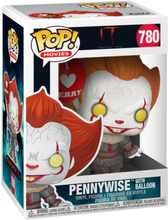 DET - Chapter 2 - Pennywise with Balloon vinylfigur 780 - Funko Pop! Figure - multicolor