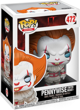 DET - Pennywise (with Boat) vinylfigur 472 - Funko Pop! Figure - multicolor