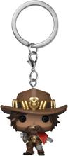 Overwatch - McCree Pop! Keychain -Funko Pocket Pop! -