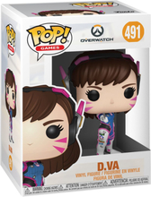 Overwatch - D.Va Vinyl Figure 491 -Funko Pop! -