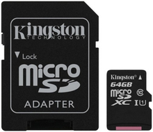Mikro SD-kort Kingston SDCS/64GB 64 GB