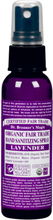 Lavender Organic Hand Sanitizing Spray