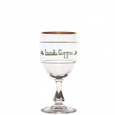 Irish Coffeeglas linjerat