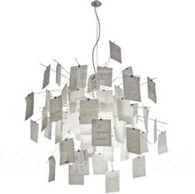 Zettel'z lampe 6 Pendel - Ingo Maurer