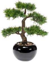 Emerald Konstväxt Bonsaiträd grön 34 cm 420003