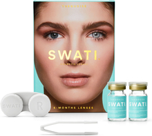 SWATI Coloured Lenses Natural colours Turquoise