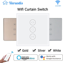 WiFi Smart Curtain Switch for Electric Motorized Curtain Blind Roller Shutter Works with Alexa and Google Home Smart Life Tuya
