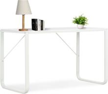 vidaXL computerbord 120 x 60 x 73 cm hvid