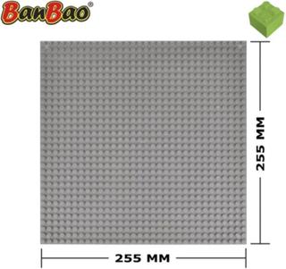 BanBao Byggeplate grå 8482