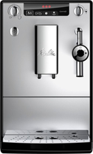 Melitta Solo & Perfect Milk Black/silver Espressomaskin - Svart/sølv