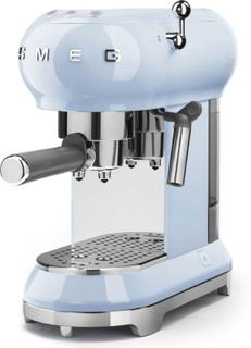 Smeg - Smeg Espressomaskin, Pastellblå