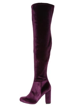 Steve Madden OWNEEX Boots med høye hæler burgundy velvet