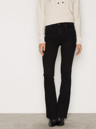 NLY Trend Superstretch BootC Denim Bootcut & Flare Svart